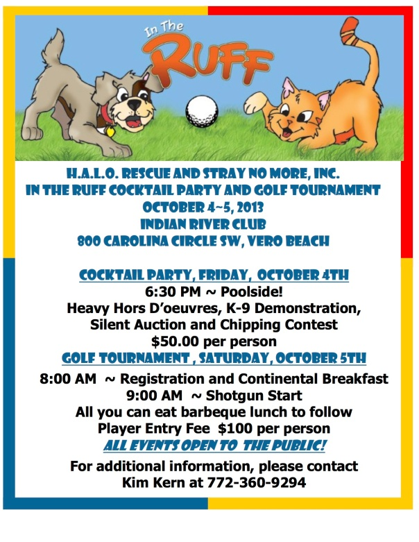 Dog Event Flyer 2013
